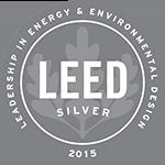 Logo: 2015 LEED Silver Certification